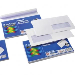 White Wallet Envelopes